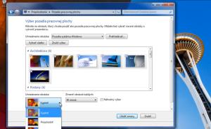Windows7 - obrázky na ploche