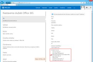 Priradenie licencií v Office 365 - priradenie licencií