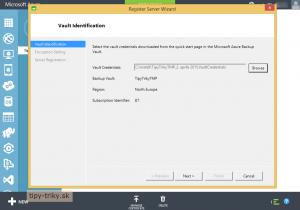 Zálohovanie Windows v cloude Azure