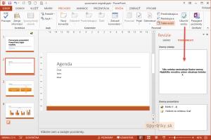 Porovnanie prezentácii PowerPoint 2013