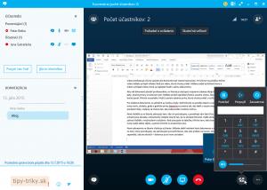 Webinár cez Skype for Business