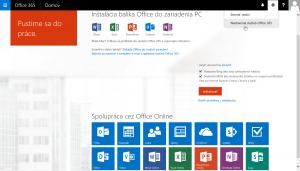 Ako zmeniť vlastné heslo Office 365