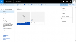 Nový OneDrive for Business