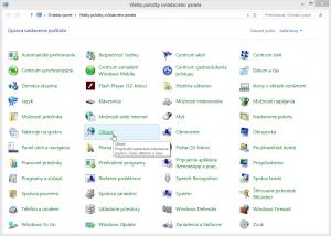 Oblasť ovplyvňuje formáty vo Windows