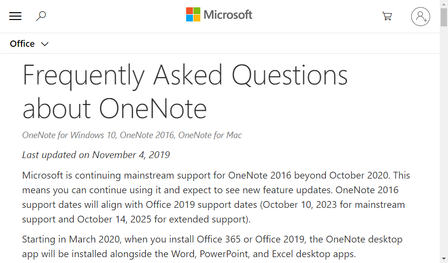 OneNote pre Office 365. Zmena, ktorá poteší